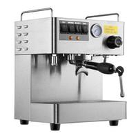 fabricante de materiais venda por atacado-Máquina de café de café expresso CRM3012 Máquina de café de aço inoxidável totalmente automático 15 Bar Pressão 1,7 L capacidade