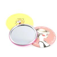 Spiegel Schminkspiegel Romantisch Mädchen Mini Tasche Make-up Spiegel Kosmetik Kompakte Spiegel Espelho De Maquiagem Espejos De Bolsill