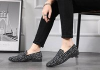 Wholesale embroideried sequin for sale - Group buy Embroideried Flower Loafers Shoes Men Bling Glitter Sequins Velvet Shoes Slippers Prom Banquet Wedding Mens Dress Shoe
