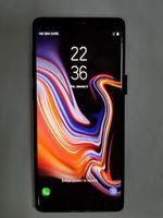 quad sim karten telefon großhandel-Goophone note9 6,3-Zoll-Real-Touch-ID 4g Lte-Telefon-Quad-Core 1G-RAM 16G-Rom Hinzufügen von 64-G-Karten Entsperrt Smartphone-Goophon-Hinweis 9