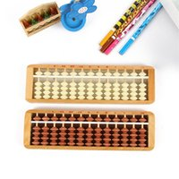 Wholesale wooden toys for kids online - Wooden Plastic Abacus For Children Abacuses Early Education Counting Frame Back Cover Computing Power Trainning Kids sz D1