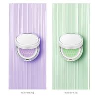 косметика зеленого света оптовых-Горячие продаем Корея косметика Laneige кожи вуаль базой воздушной подушке ББ консилер светло-зеленый фиолетовый цвет