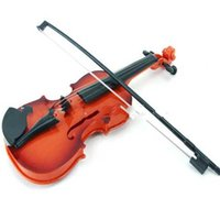 Wholesale electric toys online - Simulation Violin Earlier Childhood Music Instrument For Children Kids Electric Toy New High Quality Hot Selling jd D1