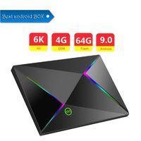 m9s android box al por mayor-1 PCS más barato M9S Z8 Smart TV Box Android 9.0 TV Box 4GB Ram 32GB 64GB Rom 1080p 4K H.265 USB3.0 IPTV Netflix H6 PK S905x2 Set Top Box