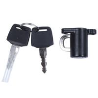 Wholesale bike lock keys for sale - Group buy Universal Motorcycle Motorbike Bike Helmet Lock Hanger Hook Keys Set Black