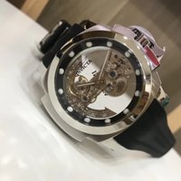Wholesale tone model for sale - Group buy Invicta MODEL Man of War Coalition Forces Ghost Bridge Automatic Silver Tone men Watch New