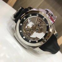 yeni saat erkek modeli toptan satış-Savaş Koalisyon Güçleri Hayalet Köprüsü Otomatik Gümüş Ton erkeklerin İzle Yeni bir Invicta MODELİ 24.707 Adam