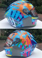 Wholesale helmet motorcycle sale resale online - hot sale Marc Marquez REPLICA HELMET Full Face Motorcycle Helmet