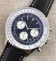 ingrosso cronometro automatico-Cronografo di lusso 1884 giapponese quarzo Mens acciaio inossidabile orologio sportivo mens cronometro orologi da polso automatici