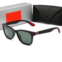 çeşitli stiller toptan satış-RayBan RB4195 Moda güneş gözlüğü, yuvarlak güneş gözlüğü, çeşitli stilleri yüksek kaliteli gelgit erkek ve kadın güneş gözlüğü toptan