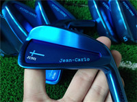 Wholesale saint germain for sale - Group buy Playwell Jean Carlo original Saint Germain blue color golf iron head forged carbon steel CNC iron wood iron