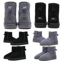 ingrosso stivali alti in coscia-Popolare invernali progettista donne della caviglia di moda WGG Australia Boots marrone alto Bailey neve delle donne di lavoro sopra il ginocchio alla coscia stivale alto pelliccia