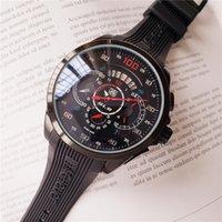 stoppuhr bewegung großhandel-TAG Uhr Run Sekunden Quarzwerk Durchmesser 44mm Armbanduhr Marke Mann Uhr Luxus wasserdicht 2019 Stoppuhr Chronograph Armbanduhren