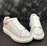 Wholesale new casual formal shoes resale online - 2019 New Release Women formal mny sneakers casual superstar red bottom shoes real cow leather back lace up Casual shoes