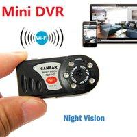 ip-kameras wireless klein großhandel-Neue WIFI DV DVR Wireless IP Cam Mini Video Camcorder Recorder Infrarot Nachtsicht Kleine Kamera
