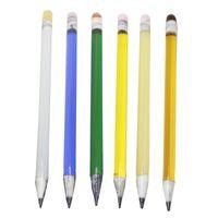 blauer wachsstift groihandel-Glass Dabber Tools Bleistift Verdampfer Stift Öl Wachs Tupfer Werkzeug mit Gelb Grün Schwarz Blau Bunte Glass Dabbers Tools