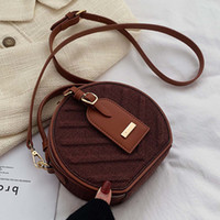 Wholesale vintage winter handbag resale online - MONNET CAUTHY Winter New Female Totes Fashion Vintage Style Chic Handbags Solid Color Coffee Black Wine Red Lady Crossbody Bags