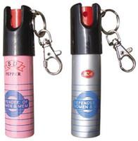 anahtar zincir savunma toptan satış-Anahtar zincir BİBER SPREY SELF SAVUNMA 20ML Kendini savunma ekipmanları Kadınlar \ 'ın karşıtı kurt ekipmanları