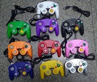 Wholesale game cube controllers for sale - Group buy Wired Game Controller Gamepad Joystick for NGC NINTENDO GC Game Cube For Platinum factory price