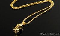 pendentifs de navire ami achat en gros de-La nouvelle bouteille peut pendentif collier personnalité hip-hop populaire logo accessoires en acier au titane, cadeaux d'amis, livraison gratuite