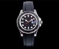 смотреть мужчин оптовых-Лучшие мужские роскошные 41 мм смотреть день дата керамический безель сапфировое стекло нержавеющая сталь автоматические мужские часы Бесплатная доставка