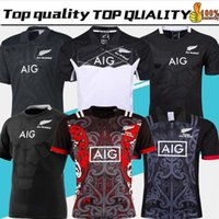 Wholesale seasons soccer jersey resale online - 2019 New Zealand All Blacks Rugby Jersey Shirt Season All Blacks Mens Rugby Football Jersey Size S XXXL