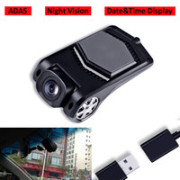 Wholesale multimedia player for car for sale - Group buy Best Quality USB Front Camera Driving Recorder DVR Night Vision ADAS For Android System Car Radio Multimedia Player Wide Angle
