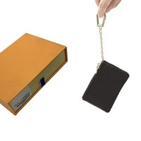Key Wallets Coin Purses Wallet Mens Key Pouch Womens Card Holder Handbags Leather Card Chain Mini Wallets Coin Purse Clutch Handbag 52 463