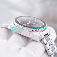 Wholesale three dial mens watch resale online - New mens designer watches Japan quartz movement Stainless steel two tone Strap Sports style Black dial Chronograph Three dials will work