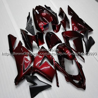 Wholesale motorcycles kawasaki ninja body kit for sale - Group buy 23colors Gifts red motorcycle Fairing For Kawasaki ZX10R ZX R ZX R ABS plastic Body Kit motorcycle panels