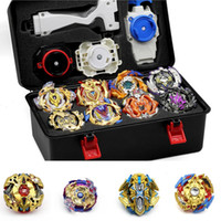 Wholesale beyblade metal toy sets for sale - Group buy TAKARA TOMY Tops Set Launchers Beyblade Toys Toupie Metal God Burst Spinning Top Bey Blade Blades Toy bay blade bables Y200109