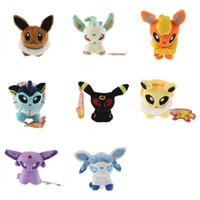Wholesale japanese anime plush stuffed for sale - Group buy Monster Plush Toys Stuffed Dolls Pikachu Spirit Animals Japanese Anime Multi Color Gifts qs F1