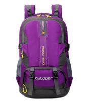 yürüyüş büyük kapasiteli sırt çantası toptan satış-Büyük 50L Açık Sırt Çantası Unisex Seyahat Çok amaçlı Tırmanma sırt çantaları Yürüyüş büyük kapasiteli Sırt Çantaları Kamp Spor çanta