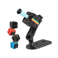 kızılötesi kamera araçları toptan satış-SQ11 Mini Kamera HD 1080 P Gece Görüş Kamera Araba DVR Kızılötesi Video Kaydedici Spor Dijital Kamera Desteği TF Kart