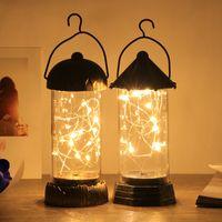 ingrosso le batterie vendute natale-Vendita calda Nuova lampada luminosa alimentata a batteria creativa per la decorazione di nozze di festa di Natale Regali di illuminazione di notte