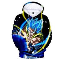meninos streetwear venda por atacado-Dragon Ball Super Broly 3D Hoodies meninos / grils Moda Hot Alta Qualidade Streetwear 3D Imprimir hoodies do miúdo e Camisola