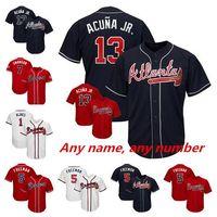 Wholesale dansby swanson jersey online - 2019 New Atlanta Braves Jersey  Ronald Acuna Jr Jr Ozzie 524ad13b260c