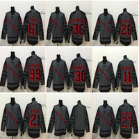 Wholesale cross check jersey for sale - Group buy New York Rangers Cross Check Henrik Lundqvist Zuccarello Gretzky Hayes McDonagh Gray Shadow Charcoal cheap Hockey Jerseys