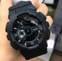 освещение спортивных часов оптовых-2019 Мужские Часы G наручные часы шок спортивные Новые Цветные светодиодные часы Auto Light Модные мужские платья часы Оптовая Militariy Army Спортивные часы