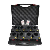 gelbe feder boa großhandel-DHL / FedEx, populäres 8cues Brunnenfeuerwerksfeuersystem für Innen, DZB01r-8