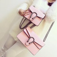Wholesale snake body chain resale online - new spring snake leather embossed fashion Women bag chain Crossbody Bag Brand Designer Messenger Bag Cute flap shoulder B