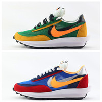 Wholesale fashion running shoes for women resale online - 2019 New Sacai LDV Waffle Daybreak Trainers Mens Sneakers For Women fashion designer Breathe Tripe S Sports Running Shoes Size Eur36