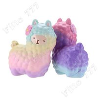 Wholesale rose toy for sale - Group buy Squishy Squeeze Cute Sheep Alpaca Super Slow Rising Scented Fun Animal Toys Slow Rising Squeeze Toys Collection