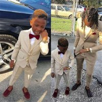Wholesale images boy rings for sale - Group buy Ring Bearer Boy s Formal Wear Tuxedos Shawl Lapel One Button Children Clothing For Wedding Party Kids Suit Boy Set Jacket Pants Bow
