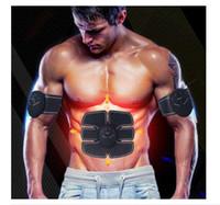 home beauty device venda por atacado-Dropshipping Treinamento do Músculo Abdominal Dispositivo Estimulador Sem Fio EMS Cinto Ginásio Professinal Emagrecimento Massager Do Corpo de Fitness Em Casa Equipamentos de Beleza