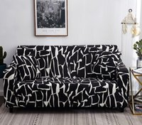 Wholesale korean sofa resale online - Stretch Slipcovers Sectional Elastic Stretch Sofa Cover for Living Room Couch Cover L shape Armchair Cover seater cm