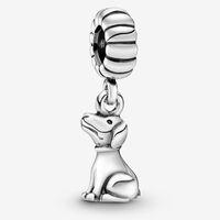 зодиакальные пандоры оптовых-Установить Pandora ювелирных изделий китайского зодиака собаки мотаться Charm Beads браслет стерлингового серебра 925 Оригинальные европейские Подвески Колье Коллекция