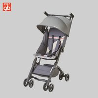 автомобильный зонтик оптовых-Goodbaby Kids Pocket Car Stroller Boarding Baby Stroller Folding Umbrella Car Can Sit Can Lie Ultra-light Portable POCKIT 3S-F