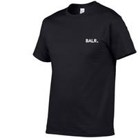 frauen hip hop shirts großhandel-Neue Balr Designer T Shirts Hip Hop Mens Designer T Shirts Modemarke Mens Womens Kurzarm Große Größe T Shirts