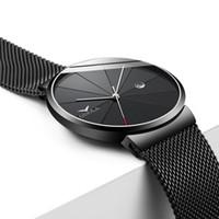 Wholesale steel cooling belt for sale - Fashion Concise Mesh Belt Metal Men Wristwatch Cool Trend Quartz Youth Watch ONOLA Genuine New Model